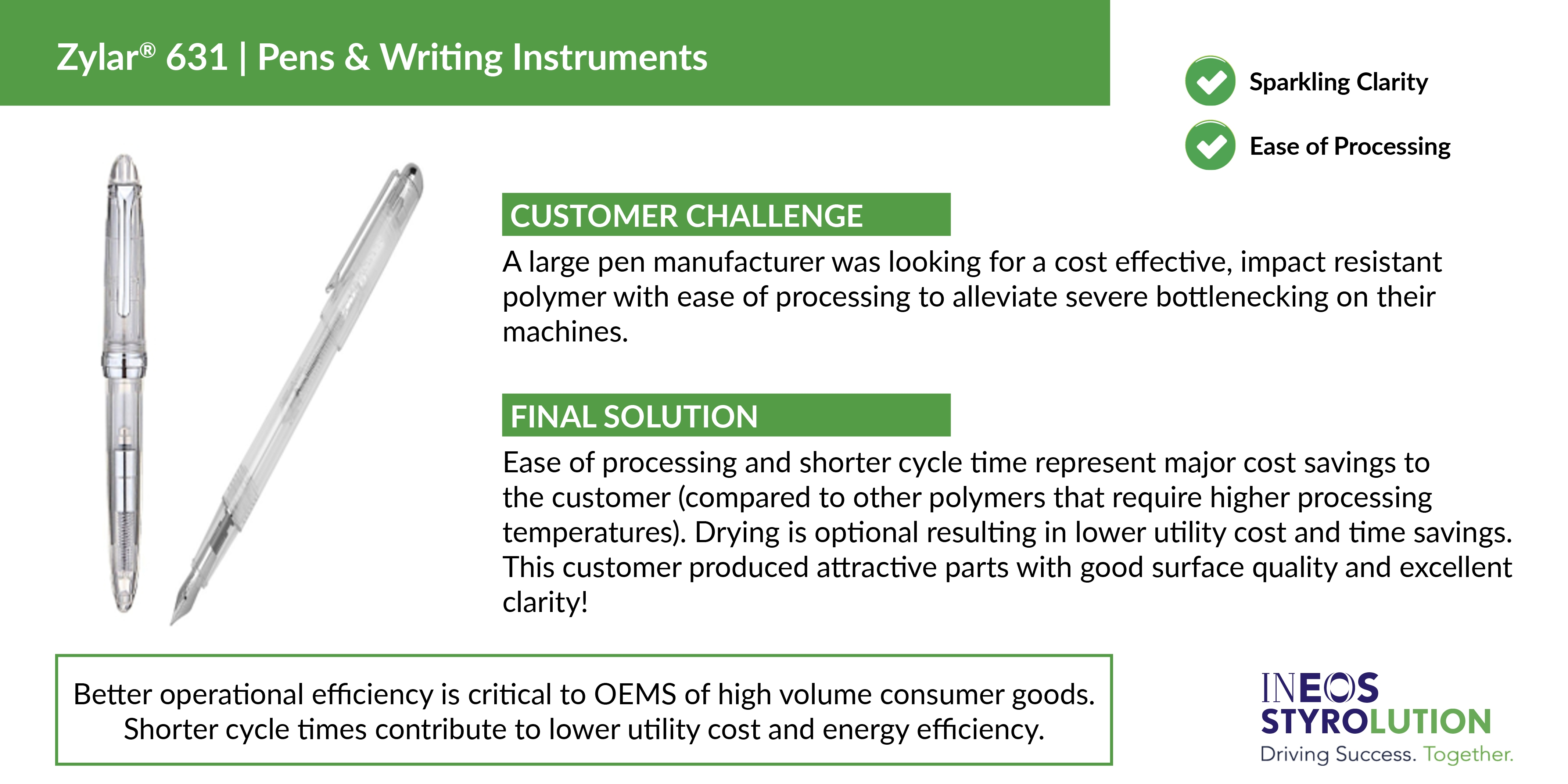 INEOS Case Study Pens Writing Instruments