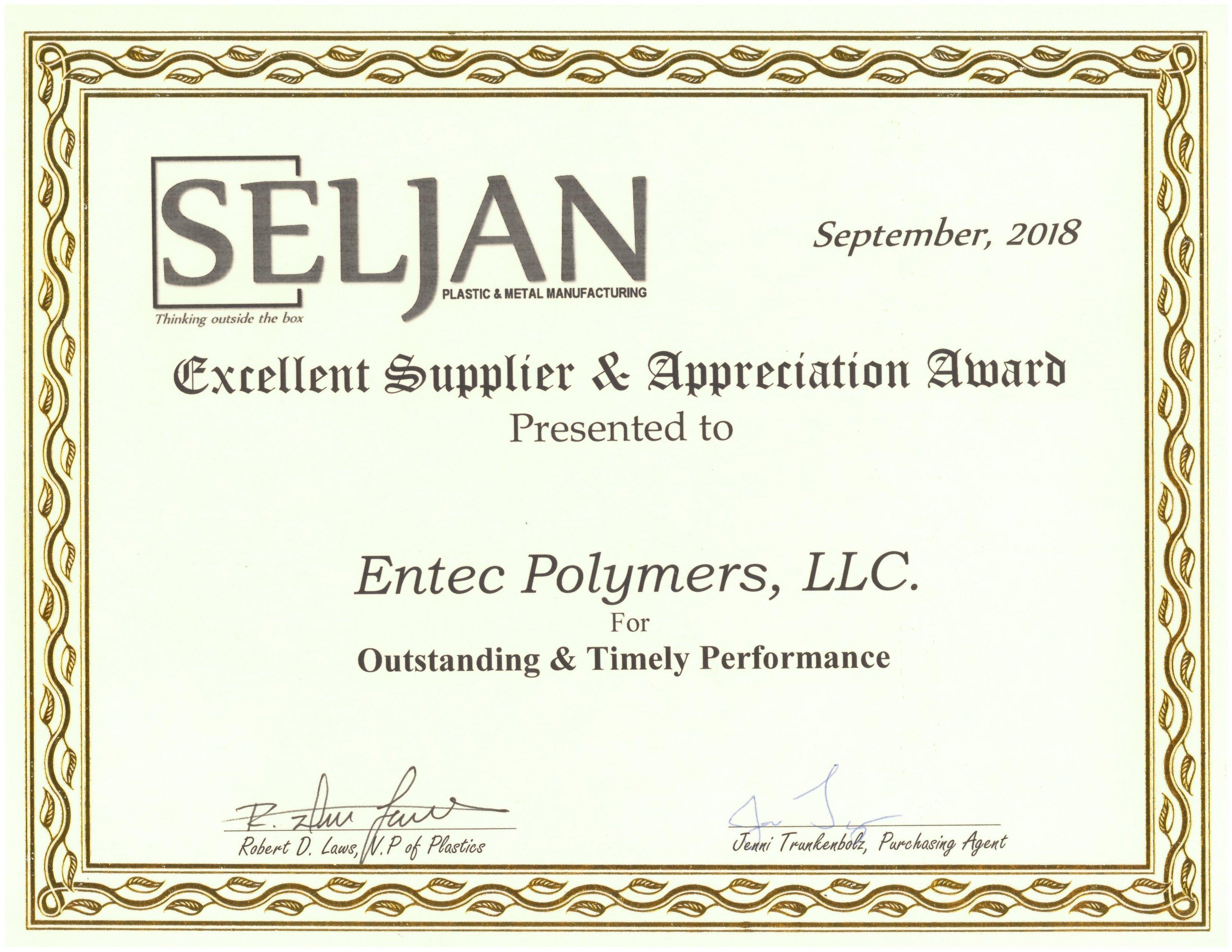 Seljan Award