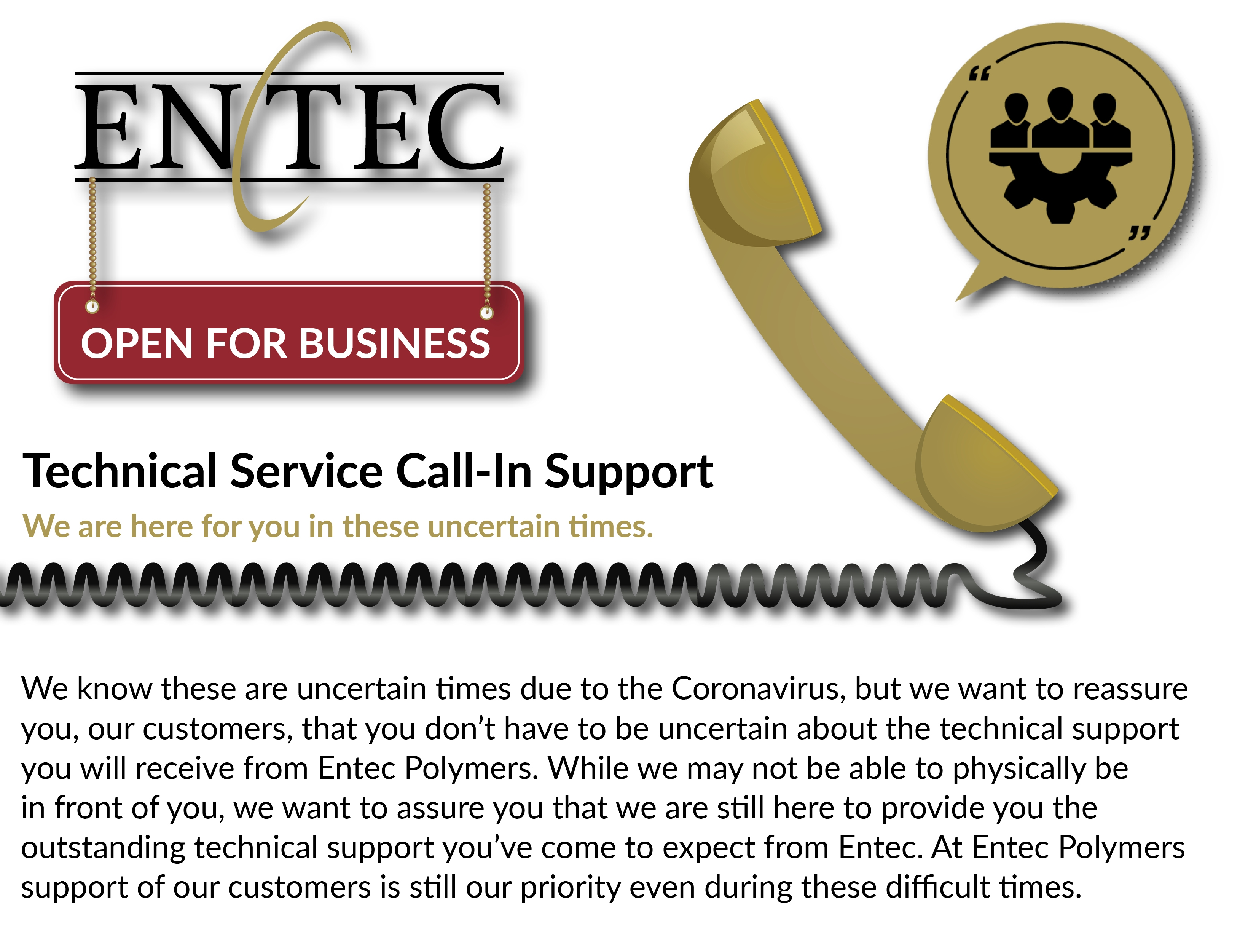 Technical Service Call In Support No Numbers