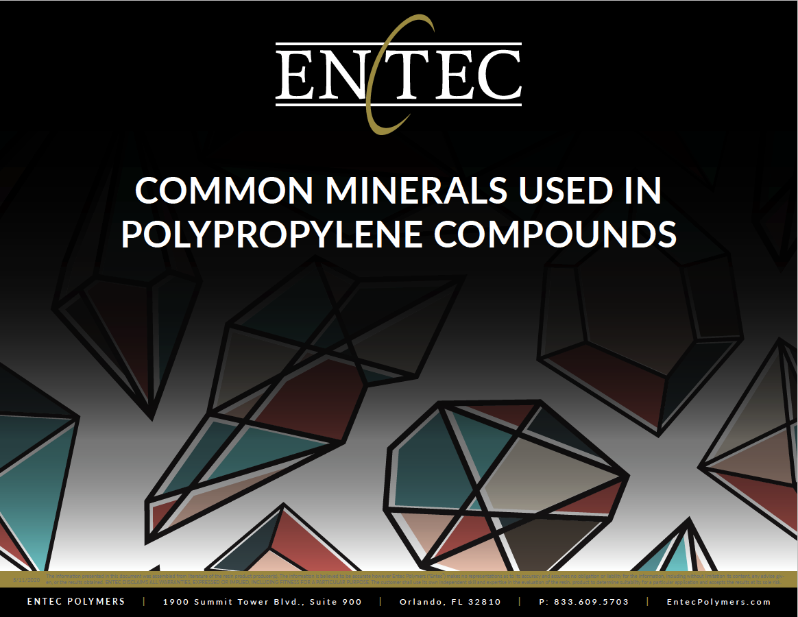 Which mineral should you use in your PP compound application? Let Entec Polymers help you select the best one!