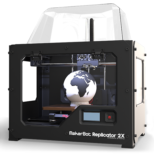 MakerBot Replicator 2X Acrylic Dome Cover