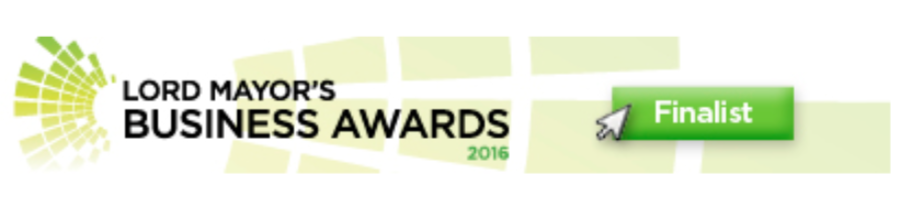 Lord Mayor Business Awards Finalist 2016