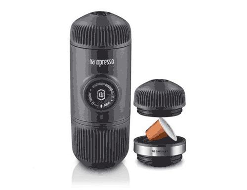 Wacaco Nanopresso Portable Espresso Machine + Nespresso Adapter