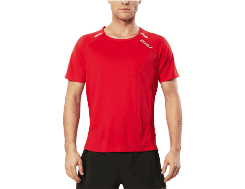 2XU Red Ice X Short Sleeve Top