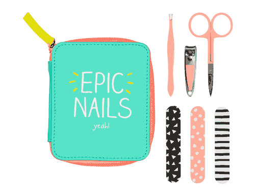 Happy Jackson Manicure Set Epic Nails