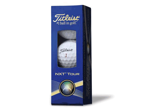 Titleist Golf Balls NXT Tour - Sleeve of 3