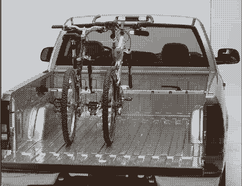 Saris Kool 2 - Bike Truck Bed Mount Rack