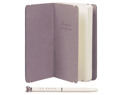 Ted Baker London Treasured Fauna Mini Notebook & Pen