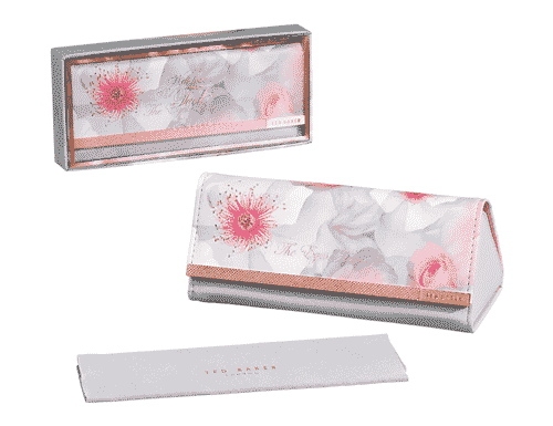 Ted Baker London Chelsea Border Sunglasses Case