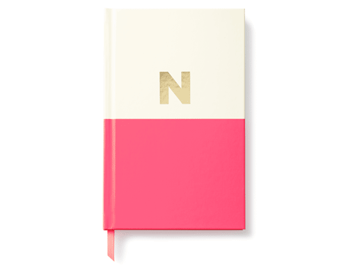 Kate Spade New York Dipped Initial Collection - Journal, N