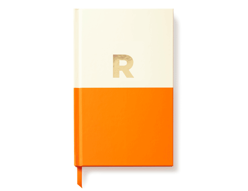 Kate Spade New York Dipped Initial Collection - Journal, R