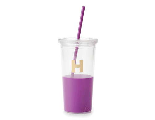 Kate Spade New York Dipped Initial Collection - Insulated Tumbler H