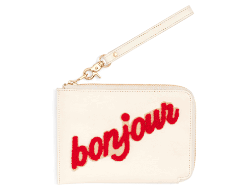 ban.do Getaway Travel Clutch, Bonjour