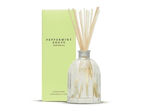 Peppermint Grove Lemongrass & Lime Room Diffuser 200ml