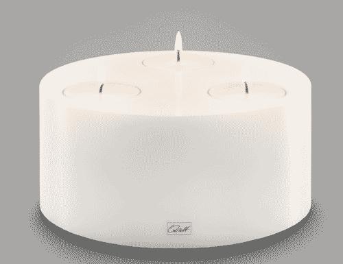 Qult Tripple Candle Holder 20x9cm