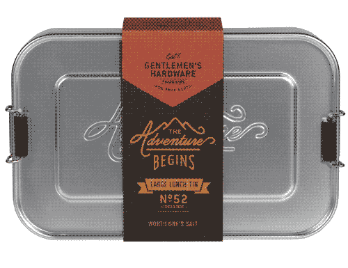 Gentlemen's Hardware Metal Lunch Box