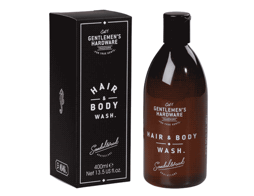 Gentlemen's Hardware Hair & Body Wash 400ml