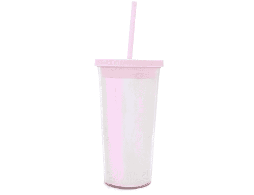 Ban.do Sip Sip Tumbler with straw - Pearlescent