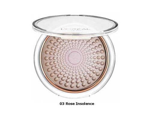 L'Oreal Paris Lumi Magique Pearl Powder - Rose Insolence 03
