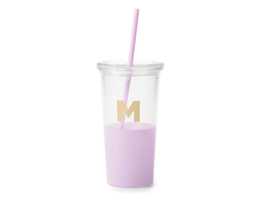 Kate Spade New York Dipped Initial Collection - Insulated Tumbler M