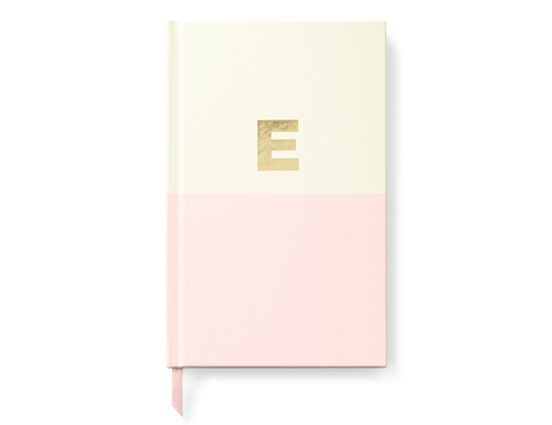 Kate Spade New York Dipped Initial Collection - Journal, E