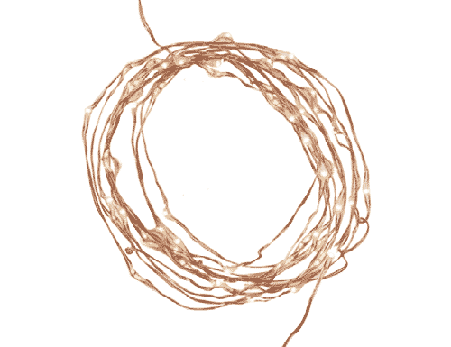 String Lights - Rose Gold