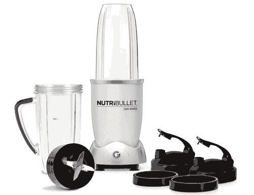 NutriBullet 1200 Series 9pc Set - Silver