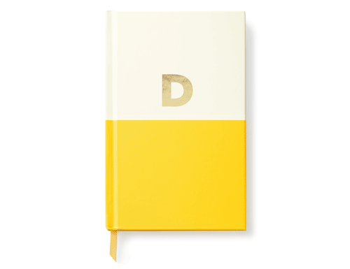 Kate Spade New York Dipped Initial Collection - Journal, D