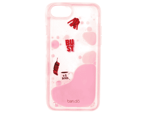 Ban.do Glitter Bomb iPhone 6/7/8 case - Working Girl