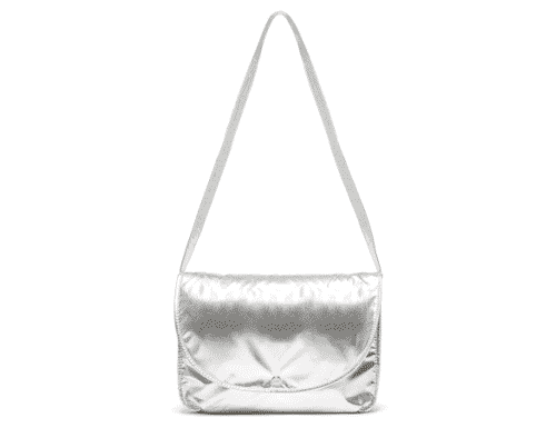 Ban.do Logged on Laptop Bag - Metallic Silver