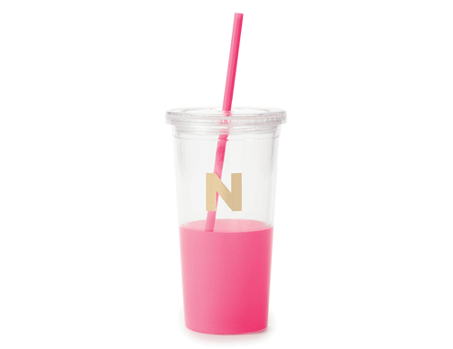Kate Spade New York Dipped Initial Collection - Insulated Tumbler N