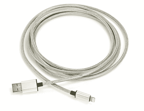 Strong Flexible iPhone Lightning Cable 2M