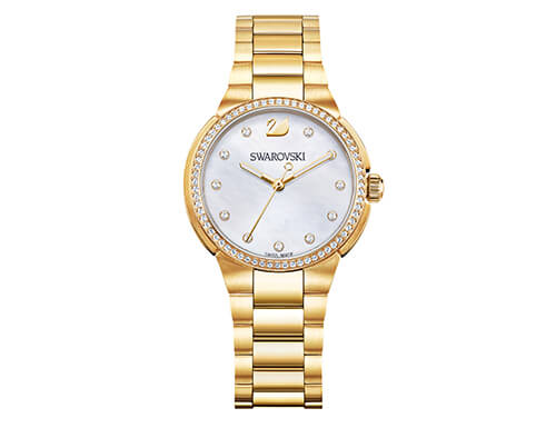Swarovski City Mini Watch, Mother-of-Pearl