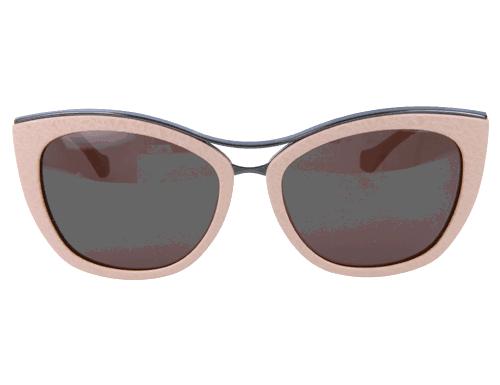 Balenciaga Womens Sunglasses Shiny Beige