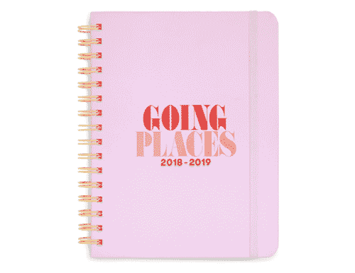 ban.do Rough Draft Large Notebook - Going Places