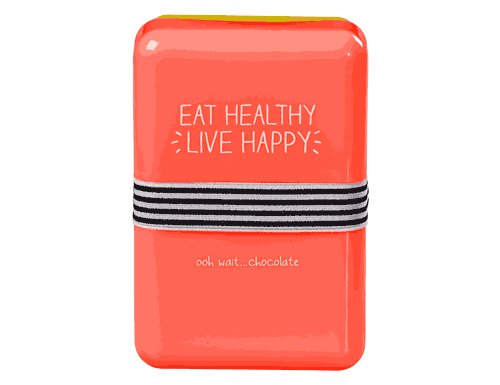 Happy Jackson Lunch Box, Eat Healthy, Live Happy
