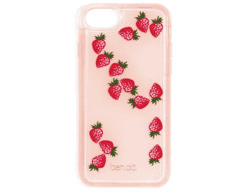 Ban.do Glitter Bomb iPhone 6/7/8 case - Strawberry
