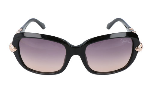 Roberto Cavalli Womens Sunglasses Shiny Black