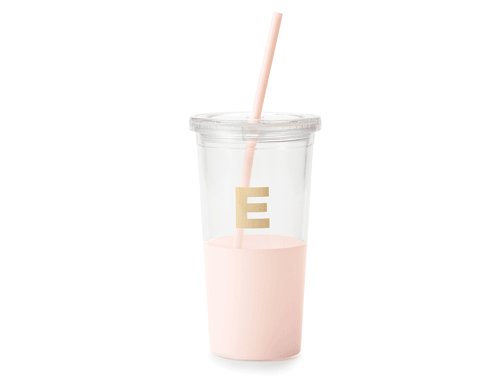 Kate Spade New York Dipped Initial Collection - Insulated Tumbler E