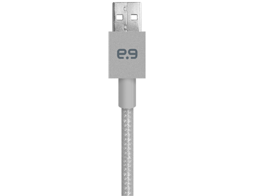 "Puregear 48"" Metallic Apple Lightning USB Cable"