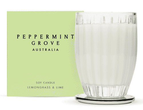 Peppermint Grove Lemongrass & Lime Candle 350g