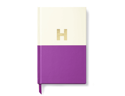 Kate Spade New York Dipped Initial Collection - Journal, H