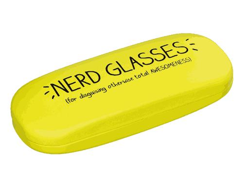 Happy Jackson Glasses Case Nerd Glasses