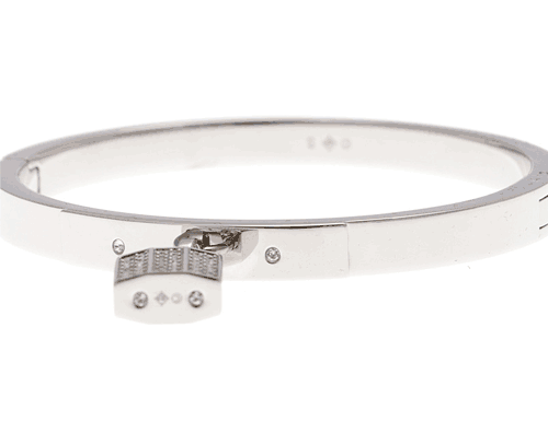 Swarovski Padlock Bangle