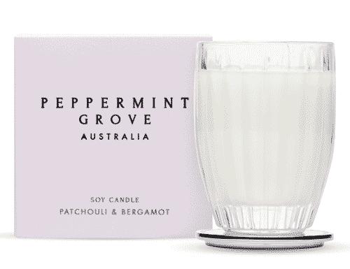 Peppermint Grove Patchouli & Bergamot Candle 60g