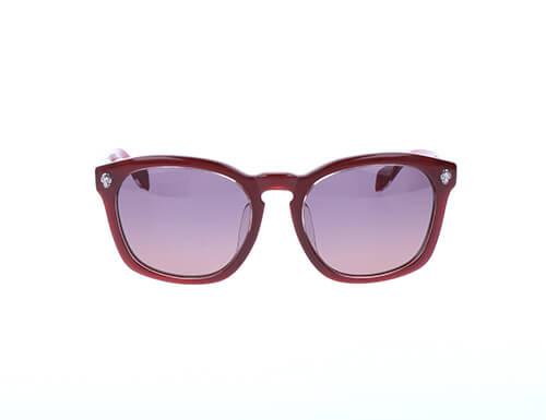 Alexander McQueen Mens Sunglasses Burgundy