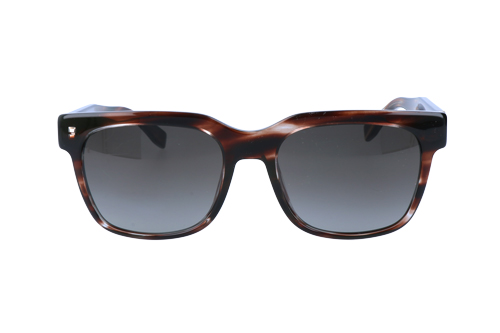 Hugo Boss Mens Sunglasses Havana Brown/Blue