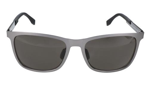 Hugo Boss Mens Sunglasses Grey Black