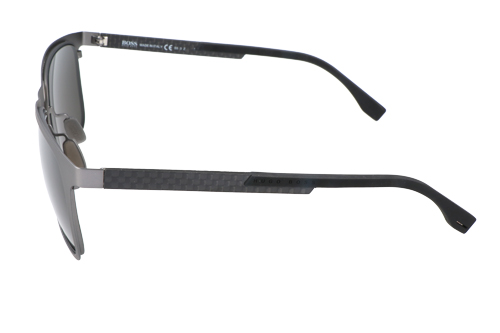 Hugo Boss Mens Sunglasses Grey Black