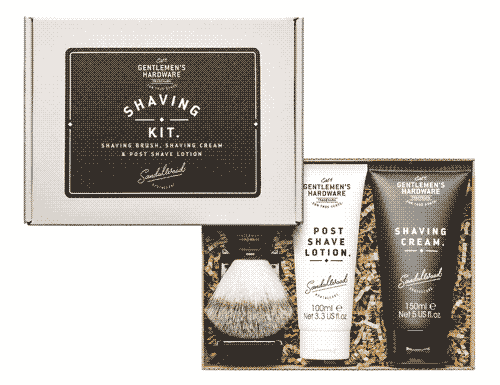 Gentlemen's Hardware Gents Shaving Kit Gift Set